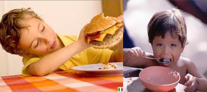 насильственное кормление детей