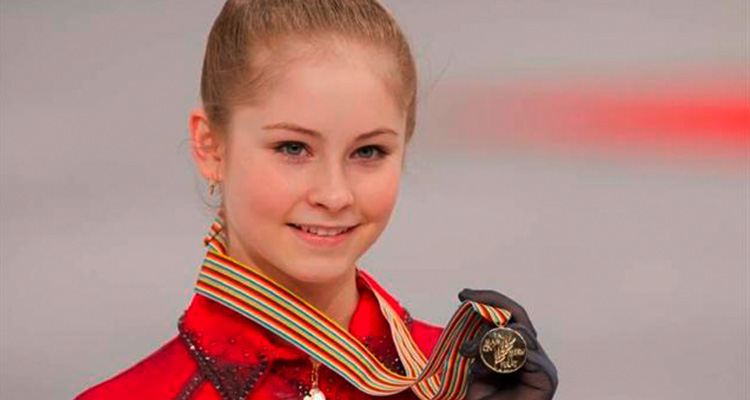 Юлия Липницкая медаль