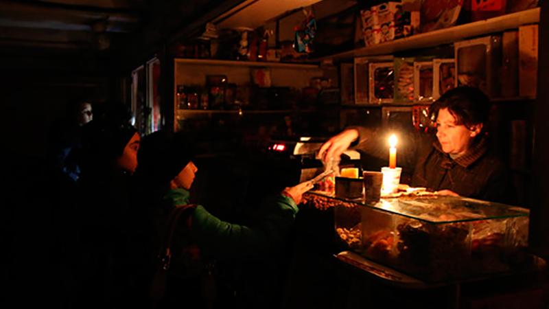 Отключение электроэнергии в Крыму. Неожиданные последствия