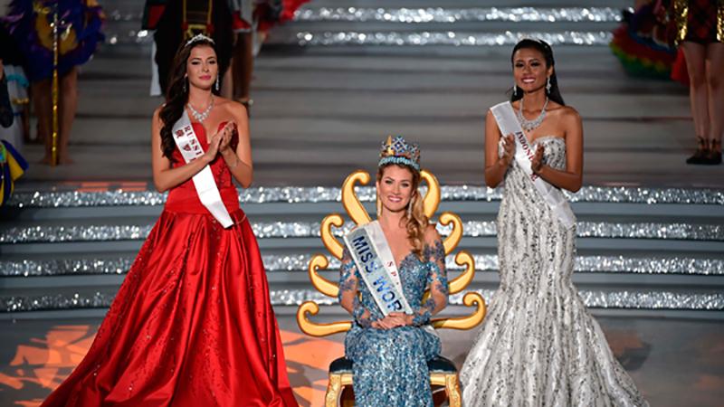 София Никитчук заняла второе место в конкурсе «Мисс Мира» 2015