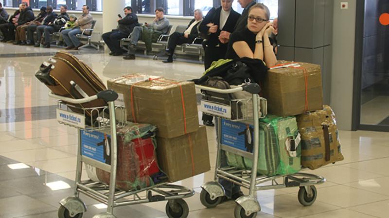Россияне ввозят в страну запрещённые заграничные продукты