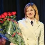Белый китель и генеральские погоны – лучшее «платье» Натальи Поклонской