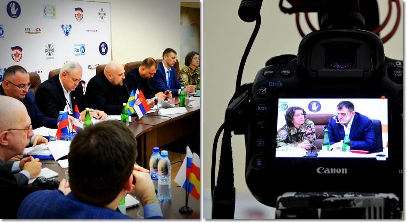 Союз добровольцев Донбасса в Москве