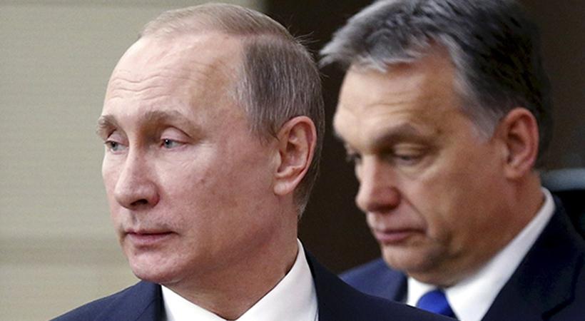 Встреча Владимира Путина c премьер-министром Венгрии Орбаном