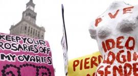 Женщины Варшавы митингуют