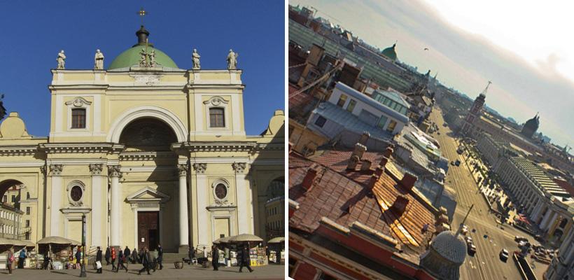 В Петербурге мужчина сорвался с крыши из-за селфи