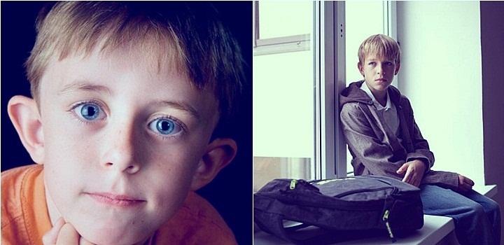 Странный ребенок в школе