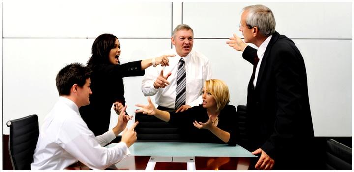 конфликт на работе изображение