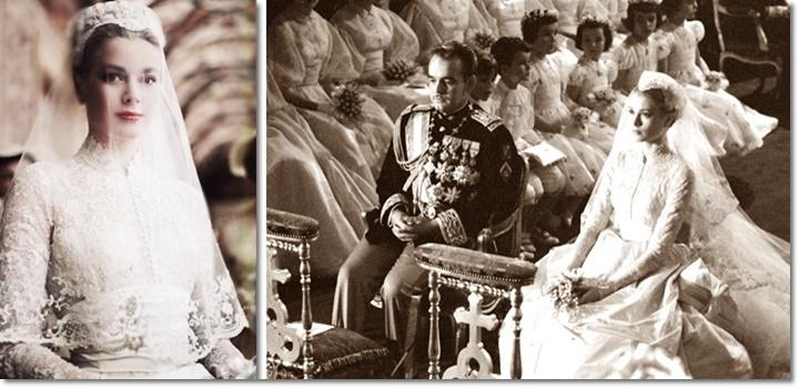 Свадьба Грейс Келли и князя Монако Ренье III изображение