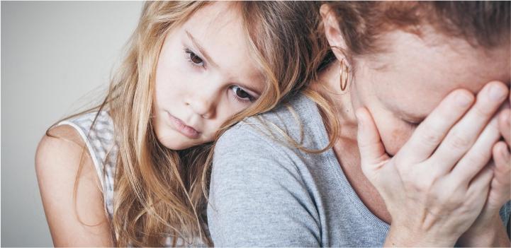 Влияние поведения мамы картинка изображение