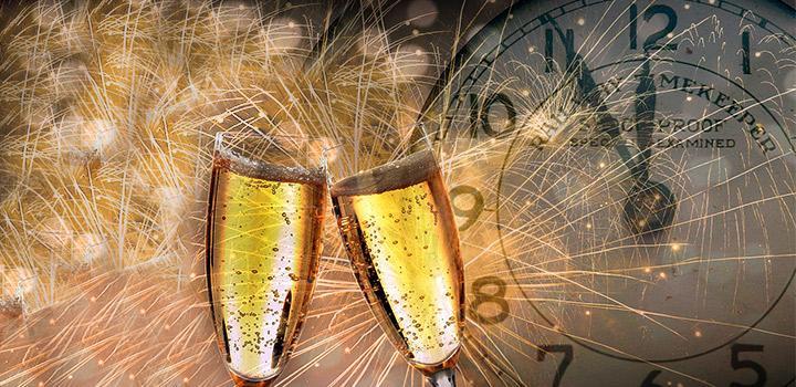 фото Монета в шампанском на Новый год, или Как привлечь удачу